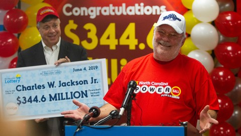 Charles W. Jackson Jr. - $350 million jackpot winner